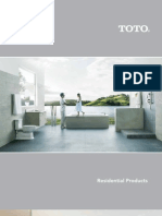 Toto Residential Catalog 2010
