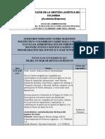 PROGRAMACIÓN JORNADA LOGÍSTICA POLITECNICO JIC -  JUEVES 23 Y 24 DE NOVIEMBRE