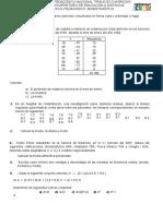 Ejercicios Medidas. Probabilidad y Distribución normal