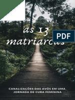 Livreto Jornada 13 Matriarcas - Patrícia Lorraine