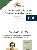 Constitución Policía de Los Estados Unidos Mexicanos