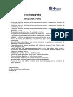 Consumibles metalografia ICP-PUCP (KEMET)