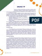 Imuno TF - Literatura