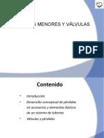 Pérdidas Menores y Valvulas Fluid Mechanics.pptx