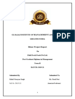 Field Fresh Foods Pvt Ltd Term 3 Minor Project.docx