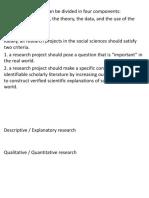 C3 measurement, research design, 2013