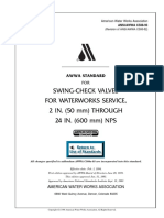 3 - C508-93 - Swing-Check Valves for Waterworks Service, 2 In. Through 24 In. (50-mm Through 600-mm) NPS