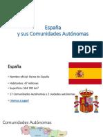 Regiones España