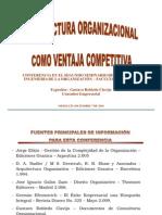 Arquitectura Organizacional Como Ventaja Competitiva - Factultad Minas