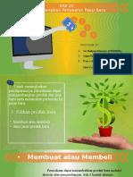 PPT BAB 20 Buku Manajemen Pemasaran PHILIP KOTLER JILID 2