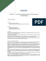 Unidade 3 – Formação e Regulamentação d...pedagogia – História da Psicopedagogia