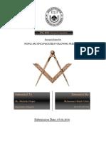 People Are Unconsciously Following Freemason