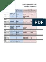 jadwal 30 maret - 3 April 2020