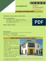 Catálogo servicios en Enoteca en español