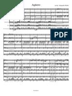 Aguero Pasodoble - Drum&Brass