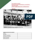 EXERCICE D'APPLICATION PERMANENCES ET MUTATIONS DE LA SOCIETE FRANCAISE (1870-1914)