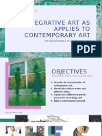 Chapter 1 Lesson 1 - The Characteristics of Contemporary Art.pptx
