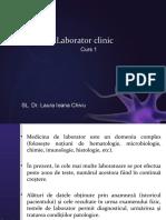 Laborator clinic curs I