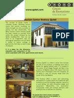 Catálogo servicios en Enoteca Qubél en inglés