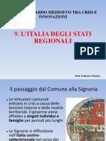 L'Italia Degli Stati Regionali