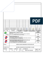 Material Requisition for Butterfly Valves