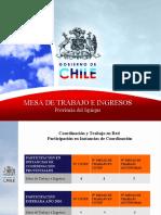 Presentación del 4to Cotep Iquique
