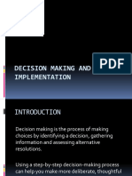 DECISION MAKING 22