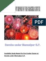 0feasibility study of fire cracker at Devoke