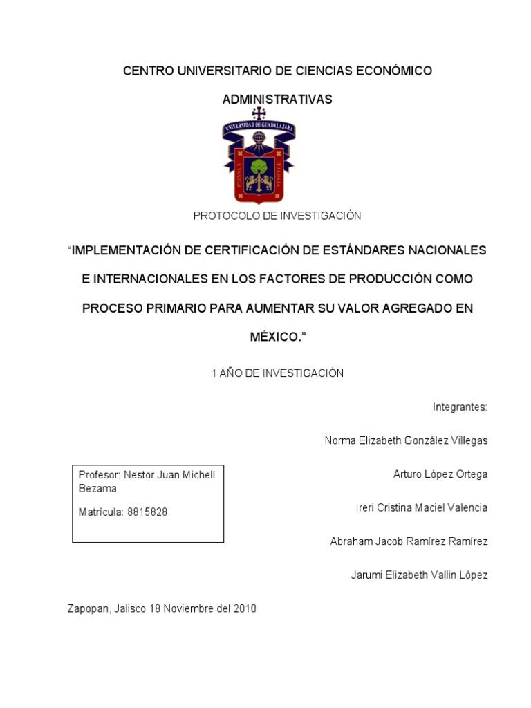Protocolo de investigacion ejemplo for Ejemplo protocolo autocontrol piscinas