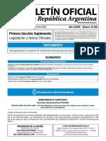 AISLAMIENTO SOCIAL PREVENTIVO Y OBLIGATORIO Decisión Administrativa 467/2020