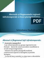 Abcesele și flegmoanele regiunii infratemporale si pterigopalatine.pptx