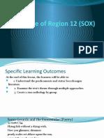 Literature of Region 12