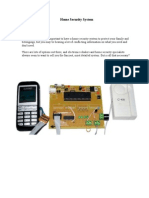 Mobile based Home Security System