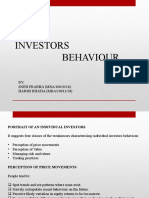 Investors Behaviour ppt