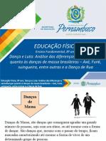 Dança e Luta - Análise das diferenças e semelhanças quanto às danças de massa brasileira – Axé, Funk, suingueira, entre outras e a Dança de Rua