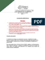 Avaliação à distância 2 de Introdução à Informática - Cederj 2019.2