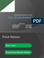 FP SI - Zener Barrier