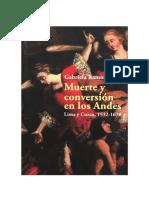Muerte y conversion