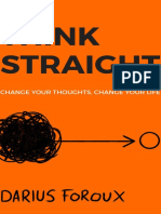 THINK STRAIGHT_ Change Your Thoughts, Change Your Life ( PDFDrive.com )