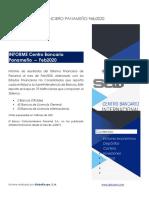 Informe del Sistema Financiero de Panamá al mes de Febrero 2020