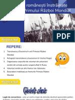 PREZENTARE - Provinciile românești înstrăinate în timpul Primului Război Mondial