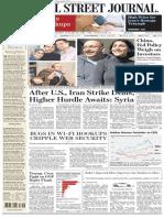 Wallstreetjournal 20160119 the Wall Street Journal