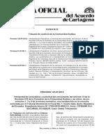 Tribunal Andino de Justicia. Proceso 125-IP-2010 (Leído pp. 7 y 8).