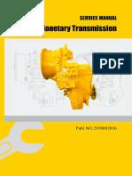 LG Planetary Transmission Service Manual