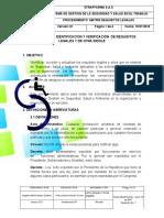 SST-D-009 PROCEDIMIENTO IDENTIFICACIÓN Y VERIFICACIÓN  DE REQUISITOS LEGALES Y DE OTRA ÍNDOLE.docx