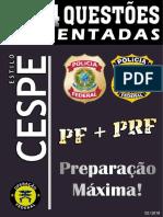 #Apostila PF e PRF 644 Questões