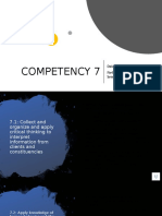 competency seven
