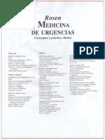 Rosen Medicina de Urgencias