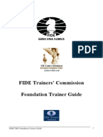 FIDE Foundation Trainer Guide - Book