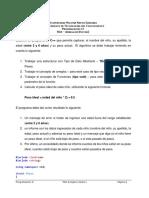 Taller N° 2 - TDA Arreglos(Vector)
